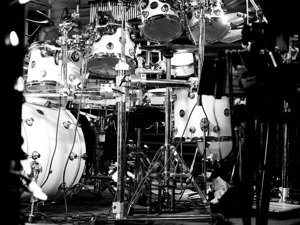Schlagzeug und Musik — wie Pech und Schwefel